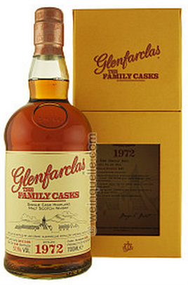 Glenfarclas Scotch Single Malt The Family Casks 1972 Cask 3456 Sherry Butt